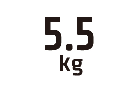 5.5kg