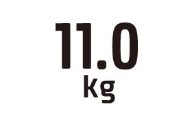 11.0kg