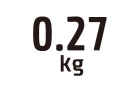 0.27kg