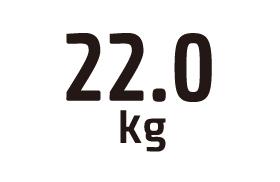 22.0kg