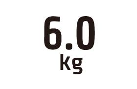 6.0kg