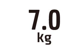 7.0kg