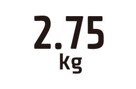2.75kg