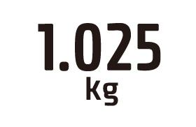 1.025kg