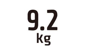 9.2kg