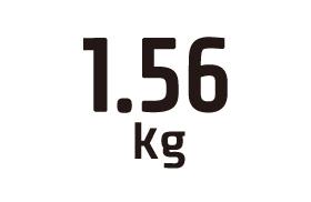 1.56kg