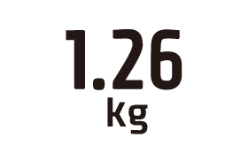 1.26kg