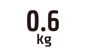 0.6kg