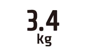 3.4kg