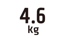 4.6kg