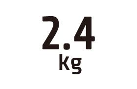 2.4kg