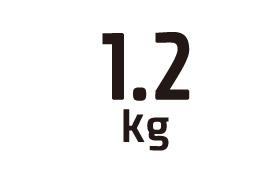 1.2kg