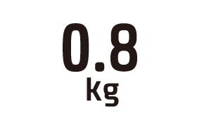 0.8kg