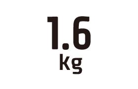 1.6kg