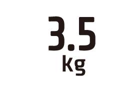 3.5kg