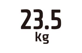 23.5kg