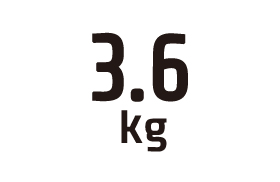 3.6kg