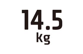 14.5kg