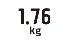 1.76kg
