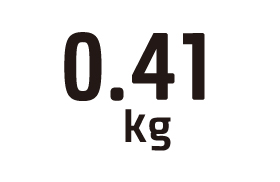 0.41kg
