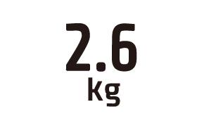 2.6kg