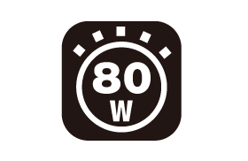 ランタン照度 80w