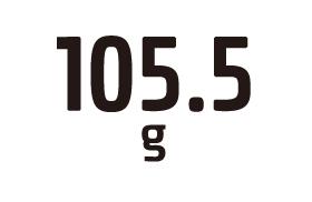 105.5g