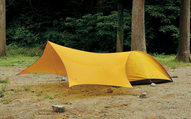 山岳テント「ラゴ」と組み合わせ