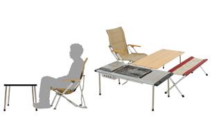 ベンチやローチェアに座ったときに最適なテーブルの高さ_011