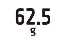 62.5g