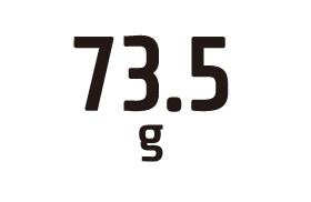 73.5g