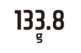 133.8g
