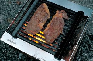 鋳鉄製グリドルでステーキを焼く_004