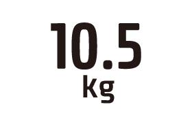 10.5kg