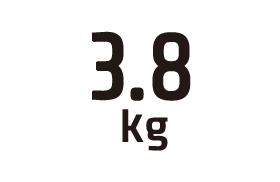 3.8kg