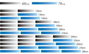 ウイングポール60cmと70cmブランクの12パターンの組み合わせ_006