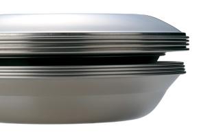 優れたスタッキング性能、軽量ステンレス製テーブルウェア_014