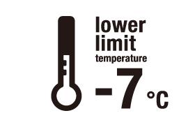 下度温度 -7°C