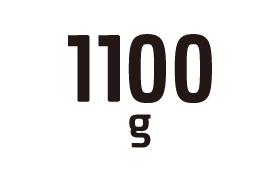 1100g