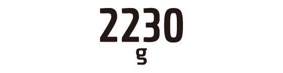 2230g
