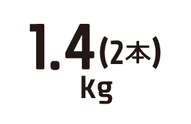 1.4kg