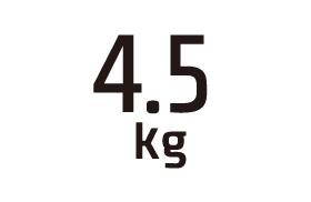 4.5kg