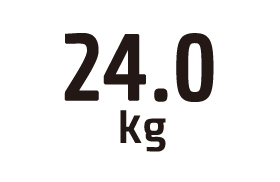 24.0kg
