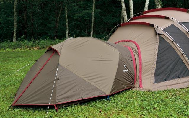 接続可能テント